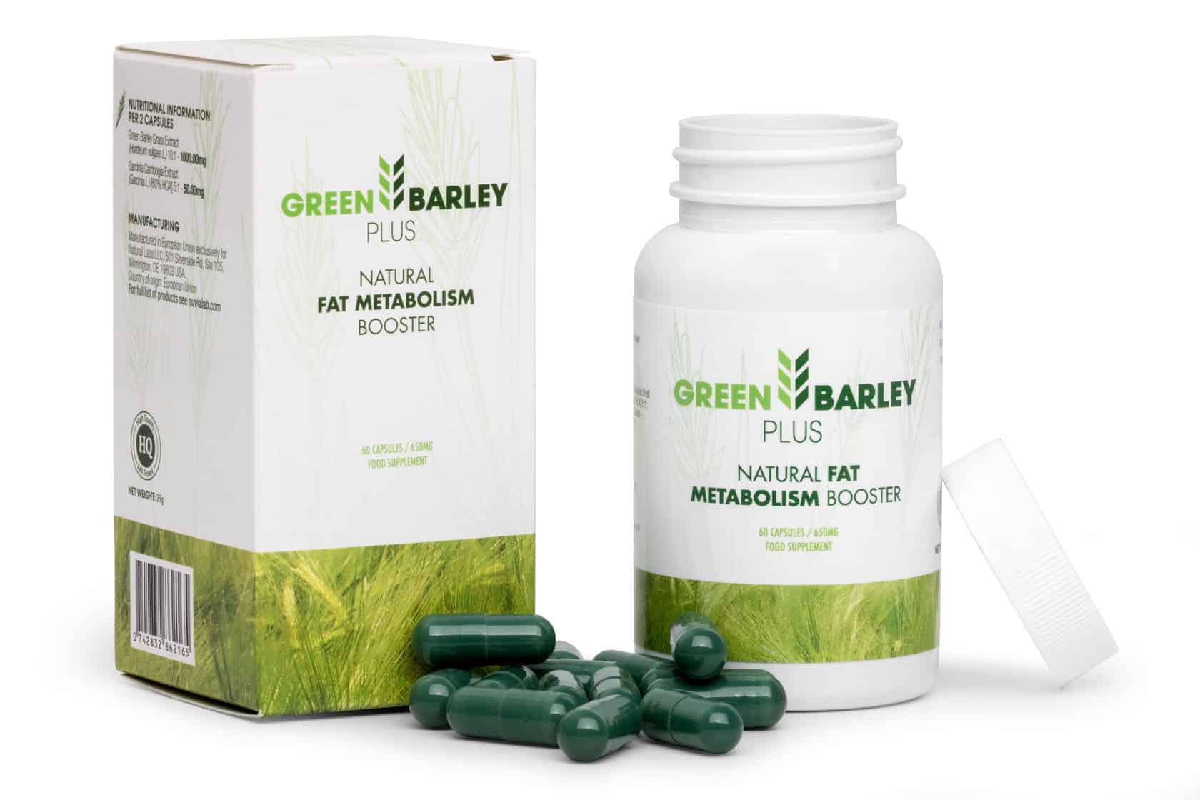 zielony jęczmień skład chemiczny